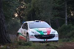 Paolo Andreucci, Anna Andreussi (Peugeot 207 S2000 #1), ITALIAN RALLY CHAMPIONSHIP