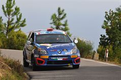Fabrizio Andolfi Jr, Andrea Casalini (Renault Twingo R2B #46, Sport Management), ITALIAN RALLY CHAMPIONSHIP