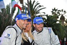 Claudia Peroni, Giandomenico Basso, Mitia Dotta (Peugeot 207 #2, Movisport), ITALIAN RALLY CHAMPIONSHIP
