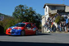 Gioel Mattia Bertuzzi, Elio Tirone (Peugeot 207 S2000 #15), ITALIAN RALLY CHAMPIONSHIP