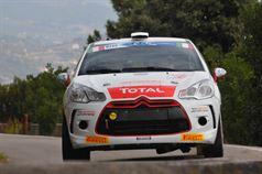 Mathieu Biasion, Philippe Coquard (Citroen DS3 R3T #35, Motor Team Srl), ITALIAN RALLY CHAMPIONSHIP