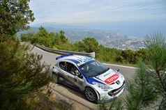 Craig Breen, Lara Vanneste (Peugeot 207 S2000 #1, Peugeot Rally Academy), ITALIAN RALLY CHAMPIONSHIP