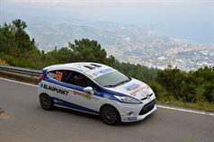 Matteo Brunello, Luca Zanrosso (Ford Fiesta R2B #50, Gass Racing Srl), ITALIAN RALLY CHAMPIONSHIP
