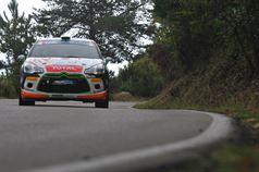 Simone Campedelli, Danilo Fappani (Citroen DS3 R3T #34, Rubicone Corse), ITALIAN RALLY CHAMPIONSHIP
