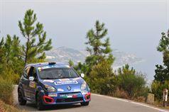 Andrea Carella, Ilaria Riolfo (Renault Twingo R2B #49, Meteco Corse Srl), ITALIAN RALLY CHAMPIONSHIP
