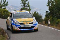 Hannes Danzinger, Kathi Wustenhagen (Renault Clio R3C #38), ITALIAN RALLY CHAMPIONSHIP