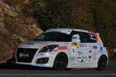 Roberto Mollo, Franco Piovano (Suzuki Swift #249, Meteco Corse Srl), ITALIAN RALLY CHAMPIONSHIP