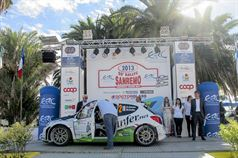 Partenza_55_Rallye_Sanremo_Basso_Dotta_Peugeot_207_S2000, ITALIAN RALLY CHAMPIONSHIP