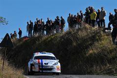 Alessandro Perico, Fabrizio Carrara (Peugeot 207 S2000 #10, Pa Racing Srl), ITALIAN RALLY CHAMPIONSHIP