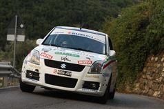 Gianluca Saresera, Manuel Fenoli (Suzuki Swift #237, Scuderia Just Race Asd), ITALIAN RALLY CHAMPIONSHIP