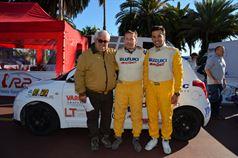 Massimo Nicoletti, Alessandro Uliana, Corrado Bonato (Suzuki Swift #238, Trt La Scuderia Asd), ITALIAN RALLY CHAMPIONSHIP
