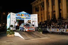 Alex Vittalini, Sara Tavecchio (Citroen DS3 R3T, #25 Bluthunder Racing Italy);, ITALIAN RALLY CHAMPIONSHIP