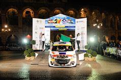 Stefano Albertini, Silvia Mazzetti (Peugeot 208 R2B, Racing Lion);, ITALIAN RALLY CHAMPIONSHIP
