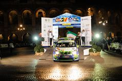 Giuseppe Testa, Emanuele Inglesi (Renault Twingo R2B, #36 Meteco Corse);, ITALIAN RALLY CHAMPIONSHIP