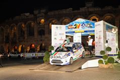 Jacopo Trevisani, Nicolò Ventoso (Ford Fiesta R2B, #39), ITALIAN RALLY CHAMPIONSHIP