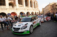 Cerimonia di premiazione 32° Rally Due Valli, ITALIAN RALLY CHAMPIONSHIP