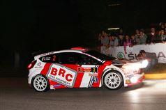 Giandomenico Basso, Mitia Dotta (Ford Fiesta R5 LDI, #2 Movisport);, ITALIAN RALLY CHAMPIONSHIP