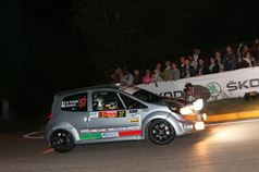 Damiano De Tommaso, Massimo Bizzocchi (Renault Twingo , ITALIAN RALLY CHAMPIONSHIP