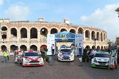 Mitia Dotta, Giandomenico Basso, Anna Andreussi, Paolo Andreucci, Umberto Scandola, Guido D Amore, Cerimonia di Premiazione Campionato Italiano Rally CIR., ITALIAN RALLY CHAMPIONSHIP