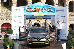 Fabrizio Jr Andolfi, Andrea Casalini (Renault Clio R3T, #23 Renault Sport Tecnologies);, ITALIAN RALLY CHAMPIONSHIP