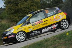 Ivan Ferrarotti, Manuel Fenoli (Renault Clio R3c, #20 Best Racing Team);, ITALIAN RALLY CHAMPIONSHIP