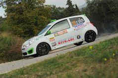 Andrea Carella, Enrico Bracchi (Renault Twingo R2B, #35 Meteco Corse);, ITALIAN RALLY CHAMPIONSHIP