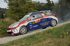 Alex Vittalini, Sara Tavecchio (Citroen DS3 R3T, #25 Bluthunder Racing Italy),, ITALIAN RALLY CHAMPIONSHIP