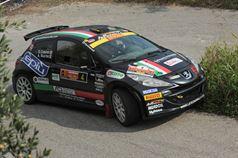 Andrea Nucita, Sara Cotone (Peugeot 207 S2000, #4 Phoenix), ITALIAN RALLY CHAMPIONSHIP