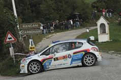 Paolo Andreucci, Anna Andreussi (Peugeot 208 T16, #3 Racing Lion SRL);, ITALIAN RALLY CHAMPIONSHIP