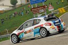 Paolo Andreucci, Anna Andreussi (Peugeot 208 T16, #3 Racing Lion);, ITALIAN RALLY CHAMPIONSHIP