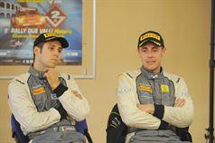 Fabrizio Jr. Andolfi, Ivan Ferrarotti, Conferenza Stampa 32° Rally Due Valli, ITALIAN RALLY CHAMPIONSHIP