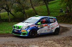Luca Panzani, Sara Baldacci (Renault Twingo R1B, #34 TRS);, ITALIAN RALLY CHAMPIONSHIP