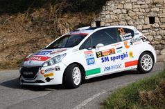 Giacomo Scattolon, Fabio Grimaldi (Peugeot 208 R2B, #32 Road Runner Team);, ITALIAN RALLY CHAMPIONSHIP