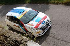 Stefano Albertini, Silvia Mazzetti (Peugeot 208 R2B, #33 Racing Lion SRL);, ITALIAN RALLY CHAMPIONSHIP