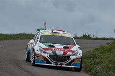 Paolo Andreucci, Anna Andreussi (Peugeot 208 T16 R5 #1), ITALIAN RALLY CHAMPIONSHIP
