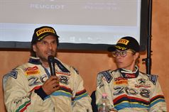 Conferenza Stampa: Paolo Andreucci, Anna Andreussi (Peugeot 208 T16 R5 #1), ITALIAN RALLY CHAMPIONSHIP