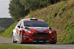 Giandomenico Basso, Lorenzo Granai (Ford Fiesta R5 LDI R5 #2, Movisport), ITALIAN RALLY CHAMPIONSHIP