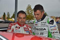 Lorenzo Granai (Ford Fiesta R5 LDI R5 #2, Movisport), Guido D'amore (Skoda Fabia R5 #3, Car Racing), ITALIAN RALLY CHAMPIONSHIP