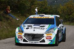 Alessandro Perico, Mauro Turati (Peugeot 208 T16 R5 #4), ITALIAN RALLY CHAMPIONSHIP