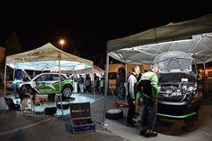 Luca Hoelbling, Mauro Grassi (Skoda Fabia R5 #5, Scuderia Car Racing Ssd), Umberto Scandola, Guido D'amore (Skoda Fabia R5 #3, Car Racing), ITALIAN RALLY CHAMPIONSHIP