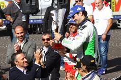 Flavio Tosi , Sindaco di Verona, Umberto Scandola (Skoda Fabia R5 #3, Car Racing), ITALIAN RALLY CHAMPIONSHIP