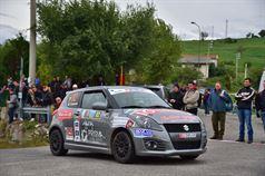 Claudio Vallino, Tiziana Desole (Suzuki Swift R1B #82, Meteco Corse), ITALIAN RALLY CHAMPIONSHIP