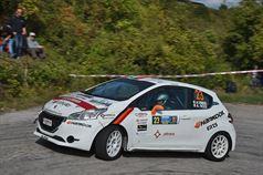 Andrea Vineis, Alessio Rodi (Peugeot 208 R2B #23, Cars For Fun), ITALIAN RALLY CHAMPIONSHIP