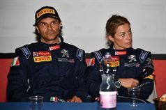 Conferenza stampa: Paolo Andreucci, Anna Andreussi (Peugeot 208 T16 R R5 #2), ITALIAN RALLY CHAMPIONSHIP