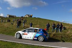 Paolo Andreucci, Anna Andreussi (Peugeot 208 T16 R R5 #2), ITALIAN RALLY CHAMPIONSHIP