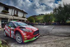 Giandomenico Basso, Lorenzo Granai (Ford Fiesta R R5 #1, Movisport), ITALIAN RALLY CHAMPIONSHIP
