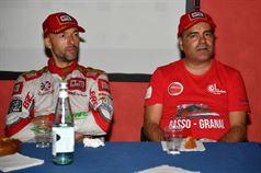 Conferenza stampa: Giandomenico Basso, Lorenzo Granai (Ford Fiesta R R5 #1, Movisport), ITALIAN RALLY CHAMPIONSHIP