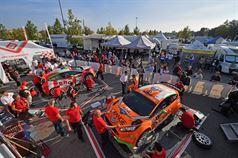 Team BRC: Giandomenico Basso, Lorenzo Granai (Ford Fiesta R R5 #1, Movisport), Simone Campedelli, Danilo Fappani (Ford Fiesta GPL R R5 #4, Orange 1 Racing), ITALIAN RALLY CHAMPIONSHIP