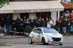 Giorgio Bernardi, Andrea Casalini (Peugeot 208 R2B #23, Meteco Corse), ITALIAN RALLY CHAMPIONSHIP