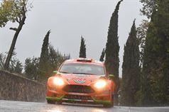 Simone Campedelli, Danilo Fappani (Ford Fiesta GPL R R5 #4, Orange 1 Racing), ITALIAN RALLY CHAMPIONSHIP